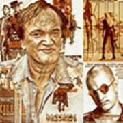 Cool Tarantino Poster Art Print