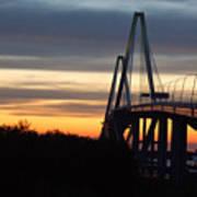 Cooper River Bridge - Charleston Sc Art Print