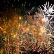 Coors Field Fireworks 3 Art Print