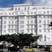 Copacabana Palace Art Print
