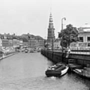 Copenhagen Canal 1 Art Print