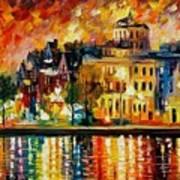 Copenhagen Original Oil Painting  Art Print