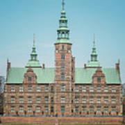 Copenhagen Rosenborg Castle Back Facade Art Print