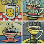 Copious Amounts Of Coffee Art Print