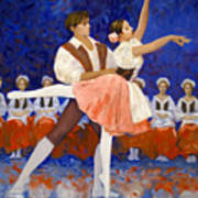 Coppelia Art Print by Kevin Lawrence Leveque