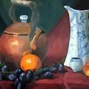 Copper And Neiman Vase Art Print