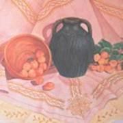Copper Bronze And Apricots Art Print