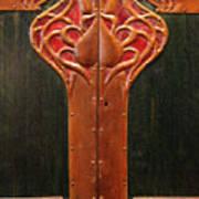 Copper Doors  Art Print