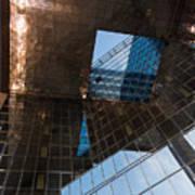 Copper Glass And Steel Geometry - Fabulous Modern Architecture In London U K Art Print