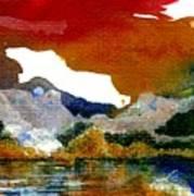 Copper Lake Art Print