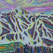 Copper Mountain Art Print