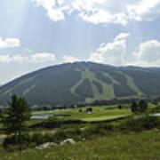 Copper Mountain Ski Area - Copper Mountain Colorado Art Print