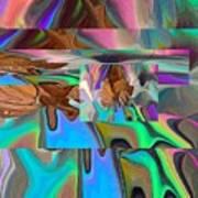 Copper Prism Art Print