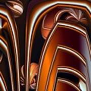 Copper Shields Art Print