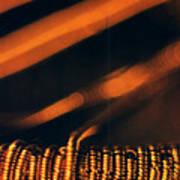Copper Wirework. Art Print