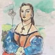 Copy Of Raphael Art Print