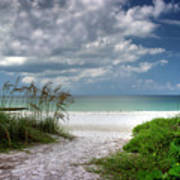 Coquina Beach-bradenton Florida Art Print