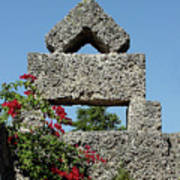 Coral Castle For Love Art Print