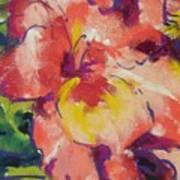 Coral Glad Art Print