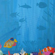 Coral Paradise Art Print