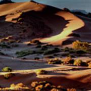Coral Pink Sand Dunes Dawn Art Print