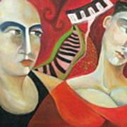 Corazon Pesado Art Print