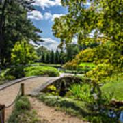 Corbel Arch Bridge Japanese Garden Maymont Art Print