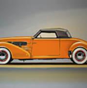Cord 810 1937 Painting Art Print