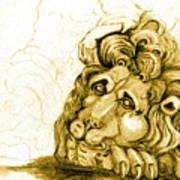 Cordoba Lion Art Print