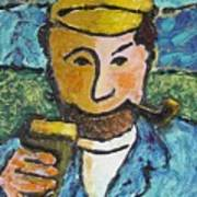 Cork Fisherman Art Print