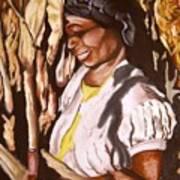 Corn Harvest Art Print