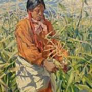 Corn Picker 1915 Art Print