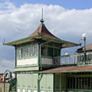 Corner Detail Of The Pavilion - Ryde Art Print