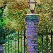 Corner Lantern Art Print