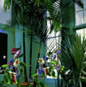 Corner Office, Key West, Fl Art Print