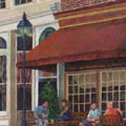 Corner Restaurant Art Print