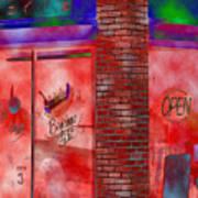 Corner Shop Art Print