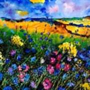Cornflowers 680808 Art Print