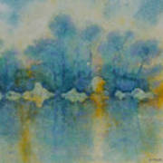 Cornish Blue Art Print