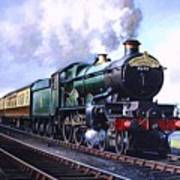 Cornish Riviera Express. Art Print
