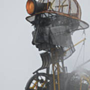 Cornwall Man Engine Art Print