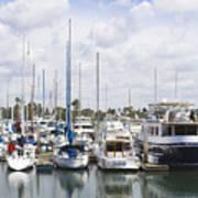 Coronado Boats II Art Print