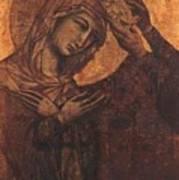 Coronation Of The Virgin 1311 Art Print
