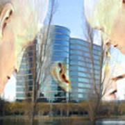 Corporate Cloning Art Print by Kurt Van Wagner