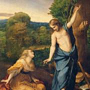 Correggio Print by Noli Me Tangere