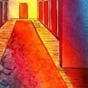 Corridor Of Dreams Art Print