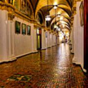 Corridor Of Power In Harrisburg Art Print