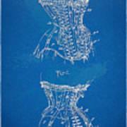 Corset Patent Series 1908 Art Print