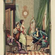 Corset Trade Card, 1912 Art Print