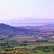 Cortona Tuscany Italy Art Print